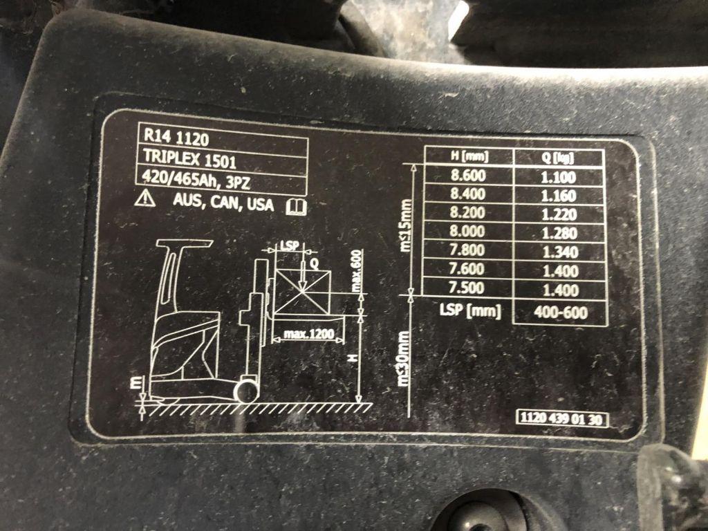 Linde-R14-Schubmaststapler www.lifthandling.com