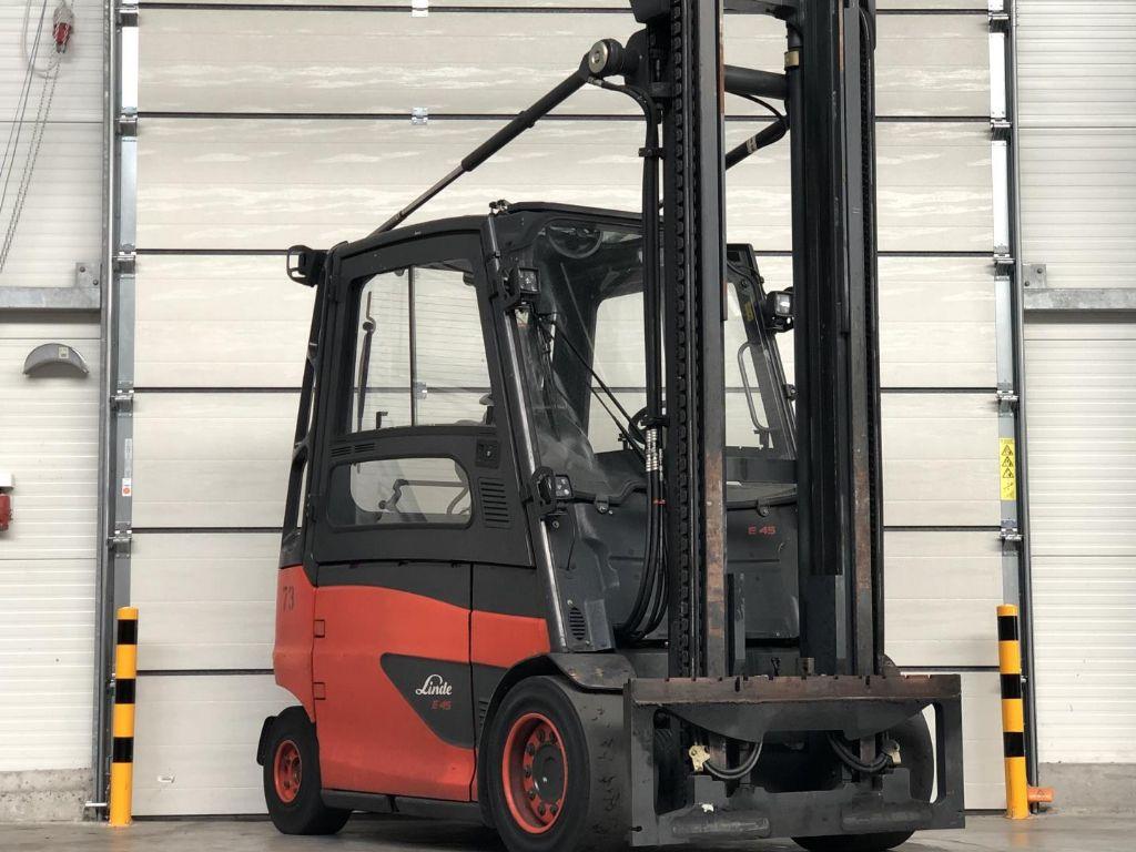 Linde-E45/600HL-Elektro 4 Rad-Stapler www.lifthandling.com