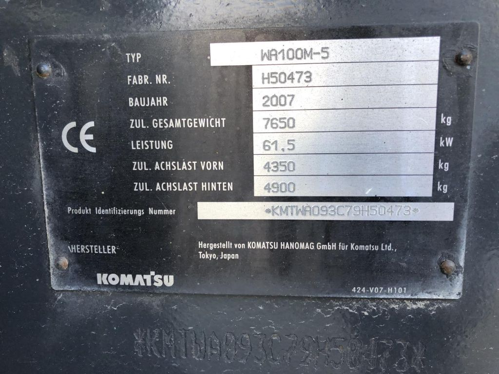 Komatsu-WA100M-5-Radlader www.lifthandling.com