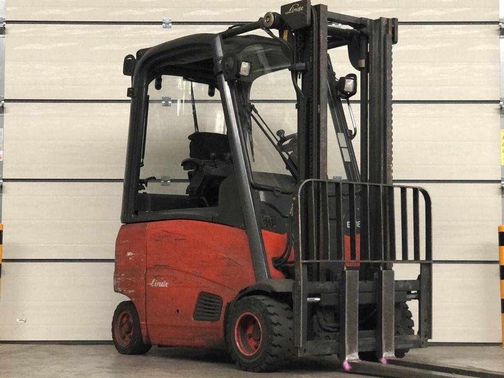 Linde-E18PH-01-Elektro 4 Rad-Stapler www.lifthandling.com
