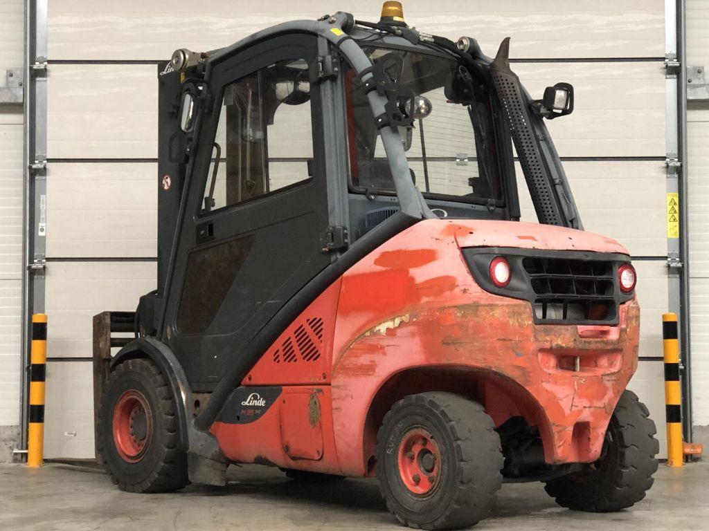 Linde H35D-02 Dieselstapler www.contilift.de