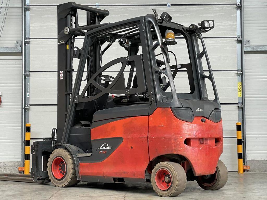 Linde-E30/600HL-Elektro 4 Rad-Stapler www.lifthandling.com