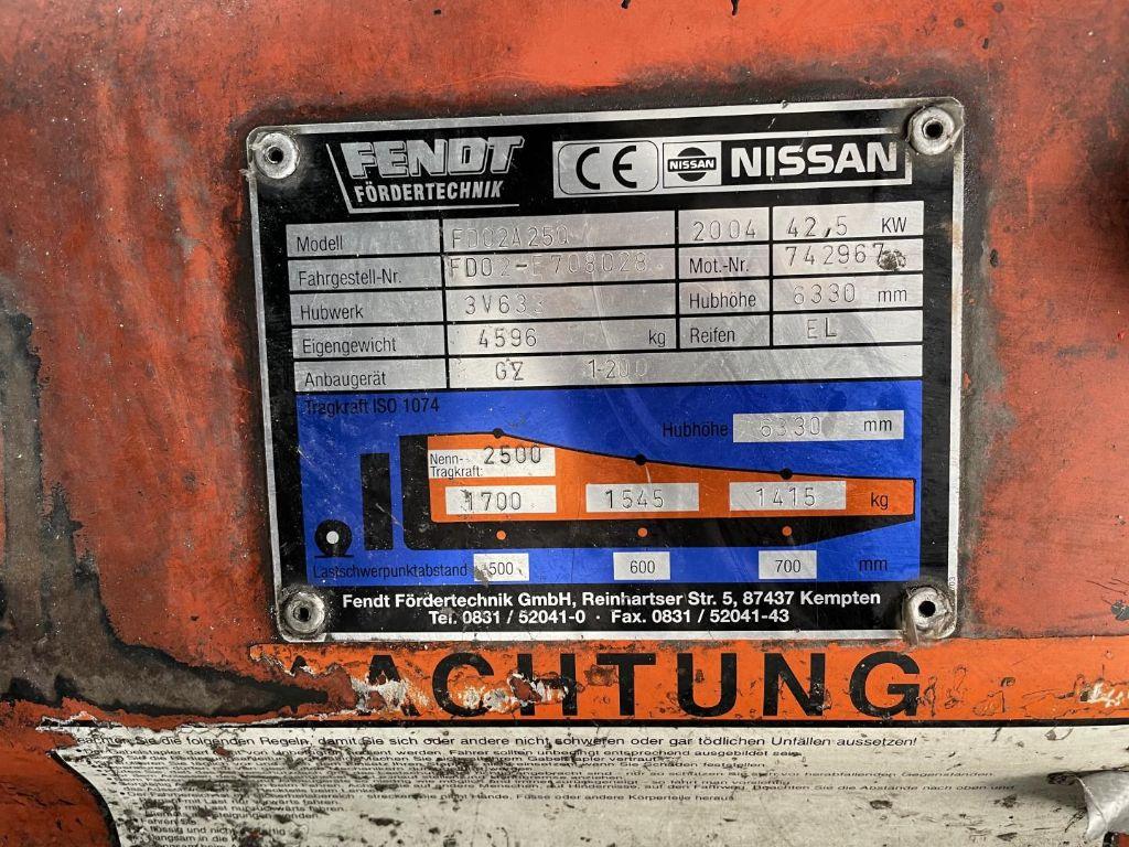 Nissan-FD02A25Q-Dieselstapler www.lifthandling.com
