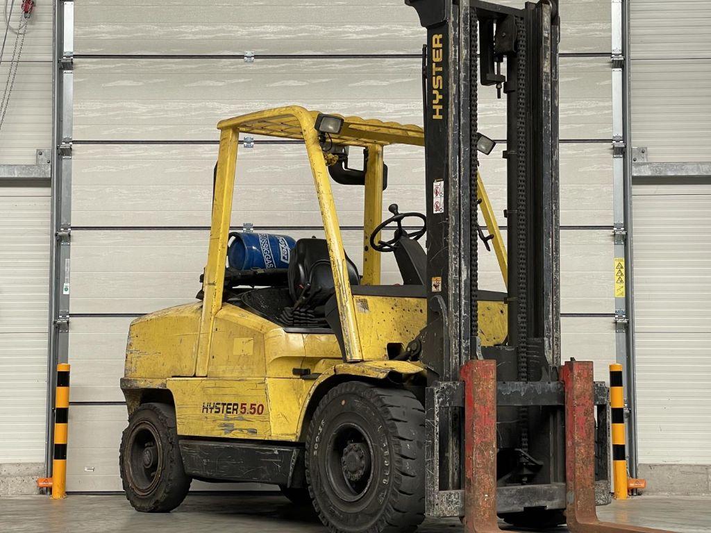 Hyster-H5.50 XM-Treibgasstapler www.lifthandling.com