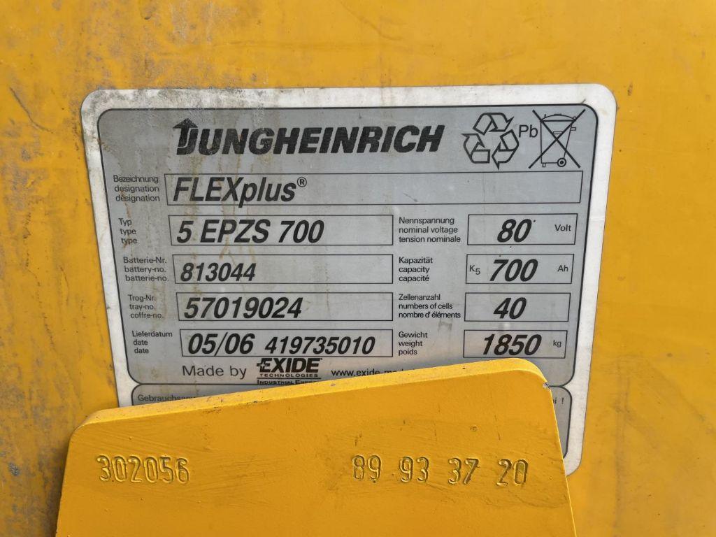 Jungheinrich-EFG Vac 30-Elektro 4 Rad-Stapler www.lifthandling.com