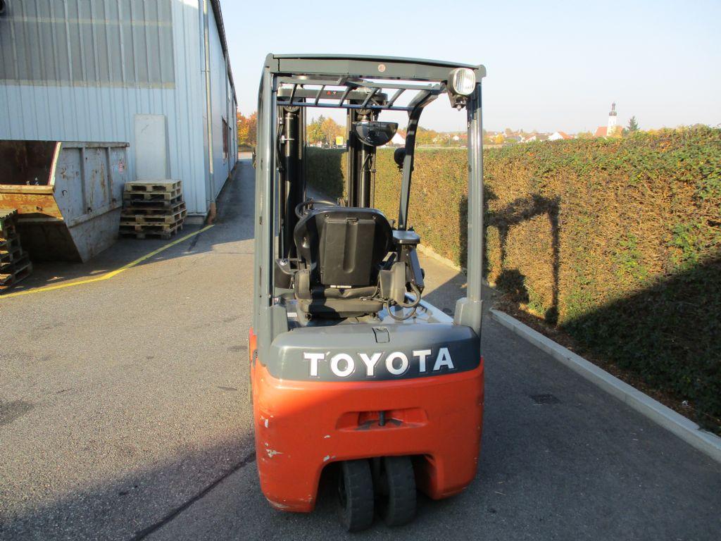 Toyota 8FBET 16 Elektro 3 Rad-Stapler loeffler-gabelstapler.de