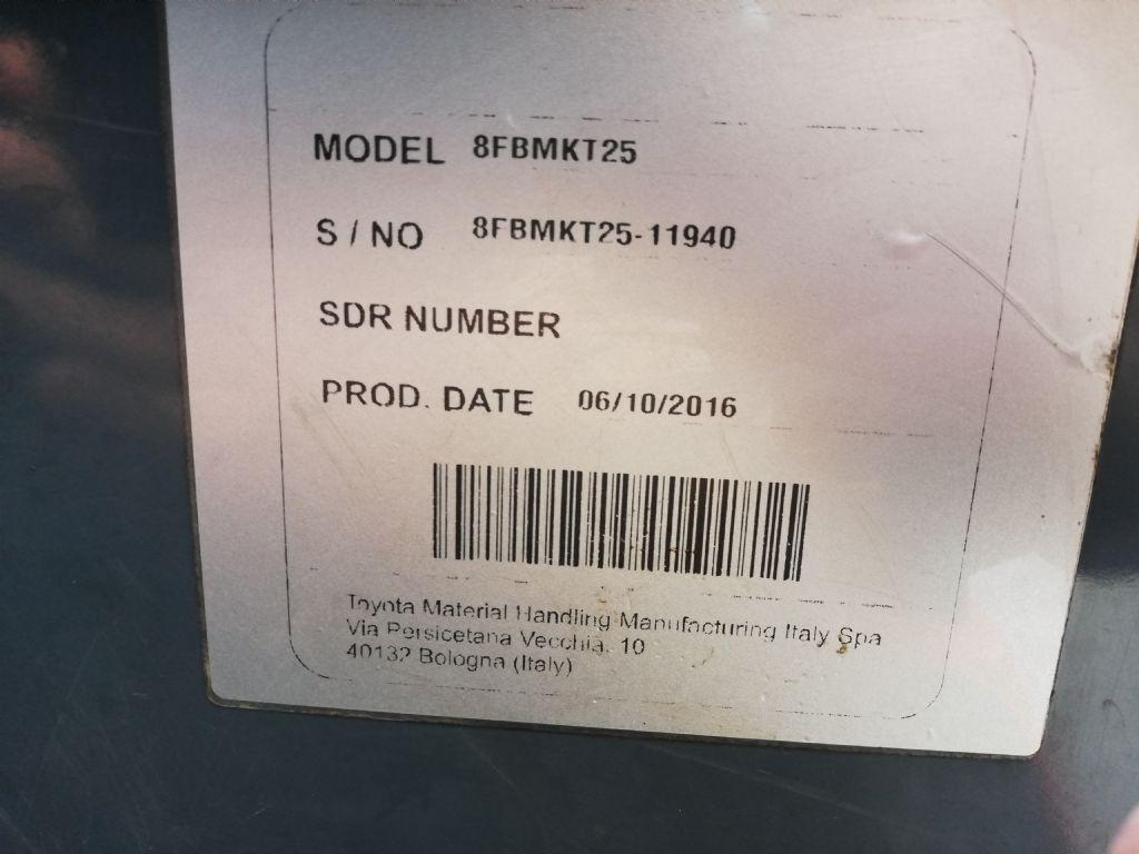 Toyota 8FBMKT25 Elektro Kompaktstapler dregab.de