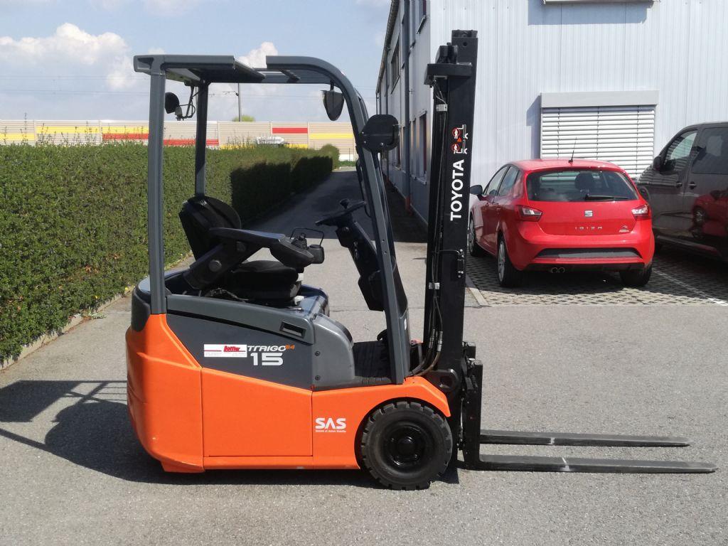 Toyota-7FBEST 15-Elektro 3 Rad-Stapler-www.loeffler-gabelstapler.de