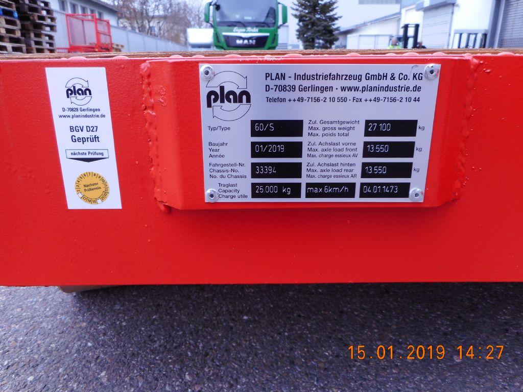 Plan Truck 60/S Schwerlastanhänger loeffler-gabelstapler.de