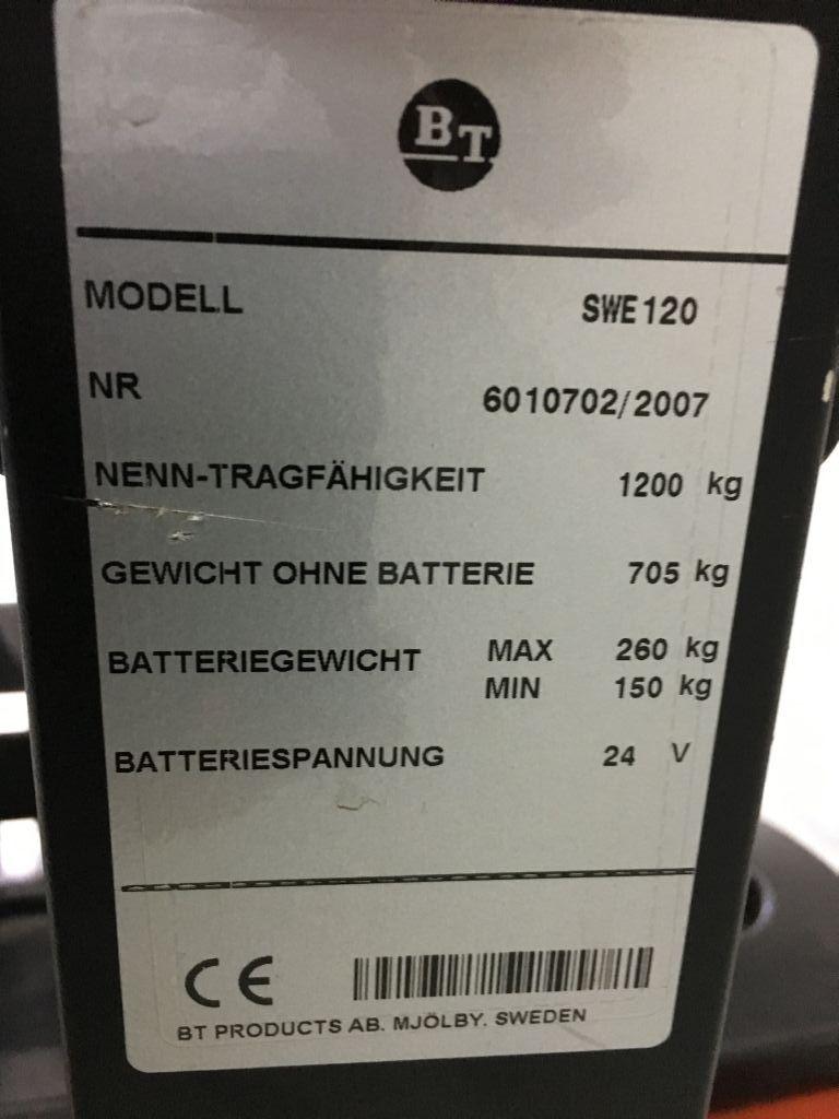 BT SWE120 Deichselstapler www.bohnertechnik.de