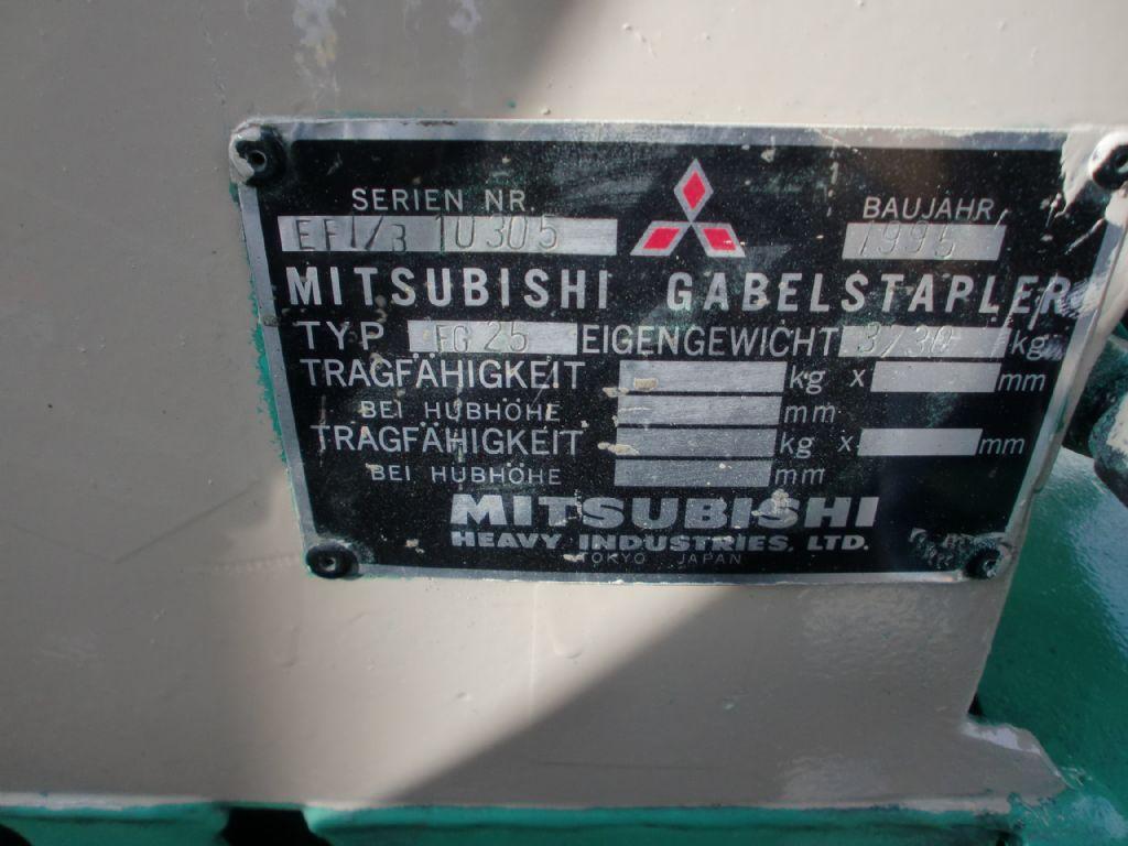 Mitsubishi-FG 25 T-Treibgasstapler www.l-l-gabelstapler.de