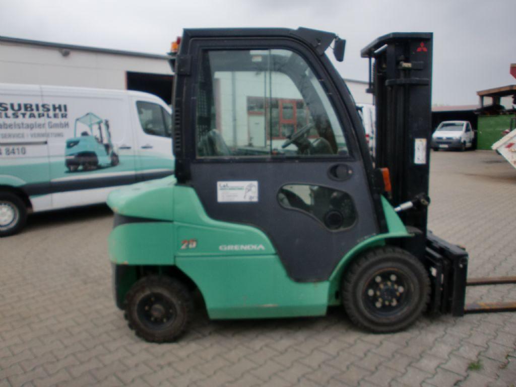 Mitsubishi-FD 25 N-Dieselstapler www.l-l-gabelstapler.de