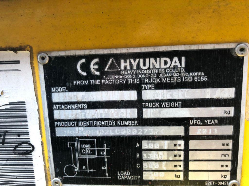Hyundai-25 D-E-Dieselstapler www.l-l-gabelstapler.de