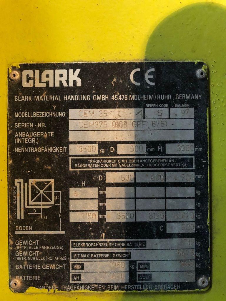 Clark-CEM 35-Elektro 4 Rad-Stapler www.l-l-gabelstapler.de