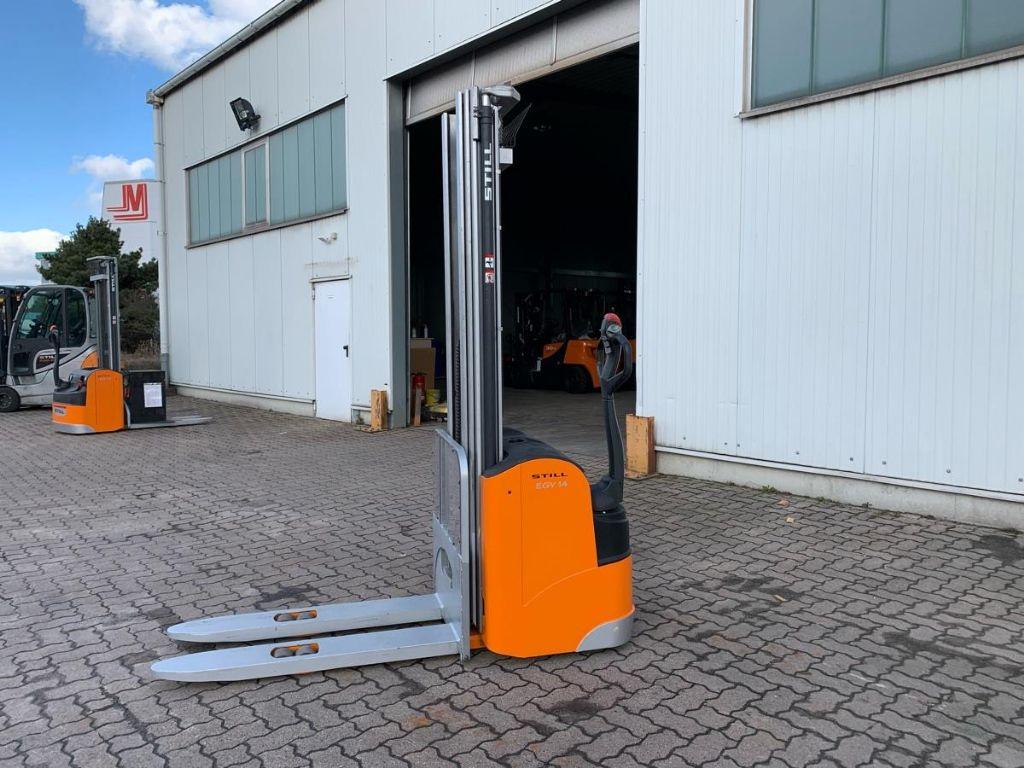Still-EGV 14 / 2.550 Std.-Hochhubwagen-www.mengel-gabelstapler.de