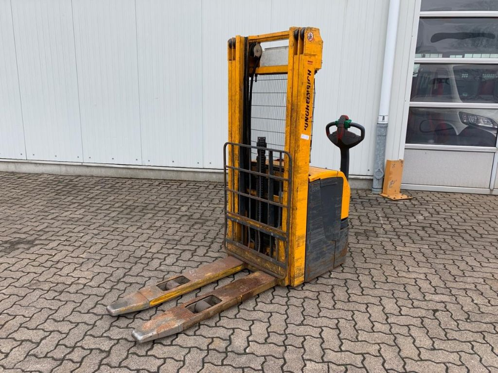 Jungheinrich-EJC 214 / 6.480 Std.-High Lift stacker-www.mengel-gabelstapler.com
