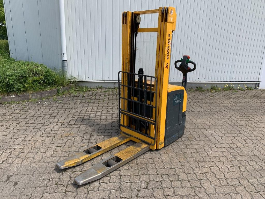 Jungheinrich-EJC 214 / 7.585 Std.-High Lift stacker-www.mengel-gabelstapler.com
