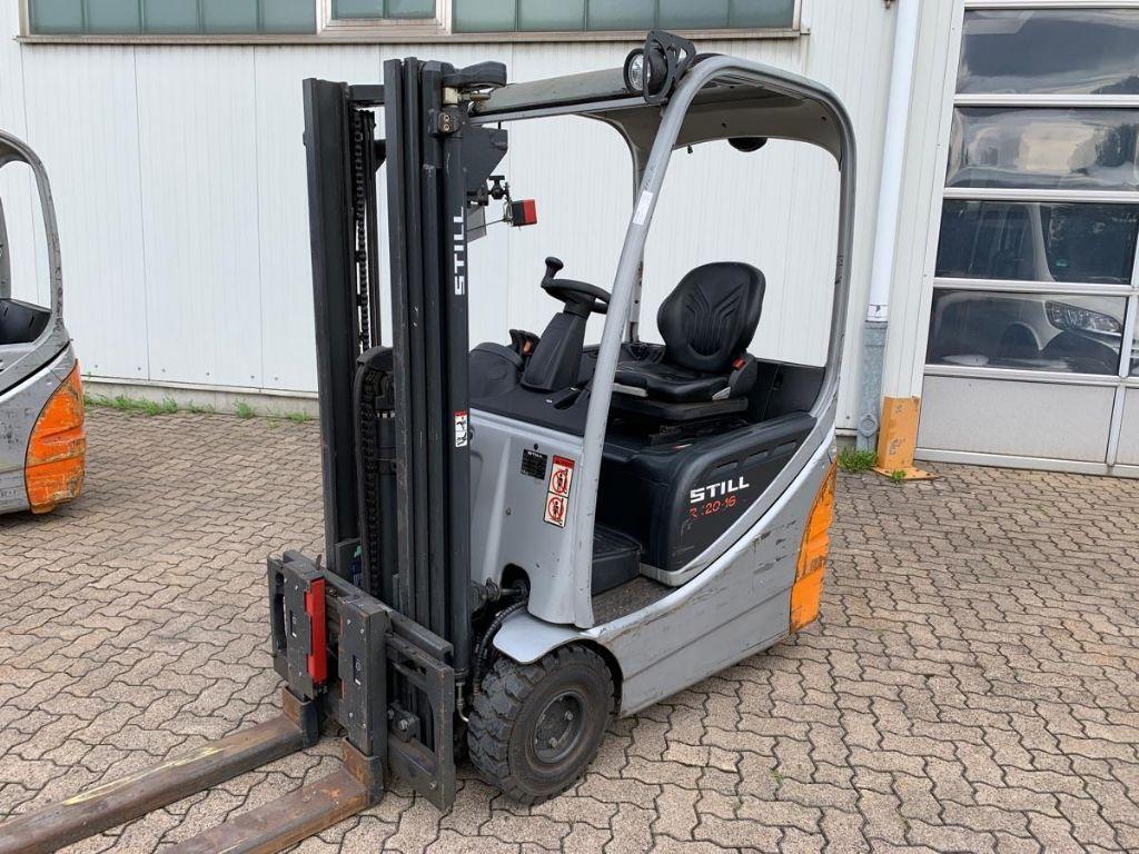 Still-RX 20-16 / 1.630 Std.-Electric 3-wheel forklift-www.mengel-gabelstapler.com