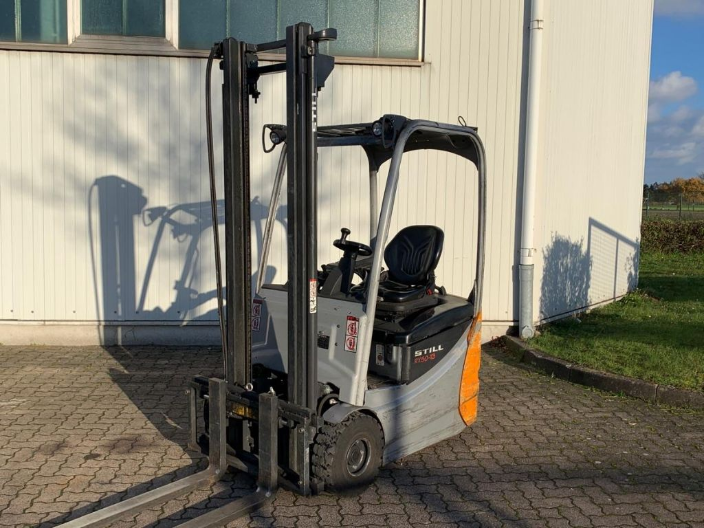 Still-RX 50-13 / 6.490 Std.-Electric 3-wheel forklift-www.mengel-gabelstapler.com