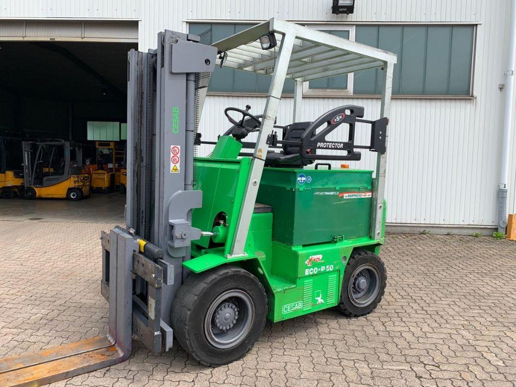 Cesab-ECO P50 / 4.550 Std.-Electric 4-wheel forklift-www.mengel-gabelstapler.com