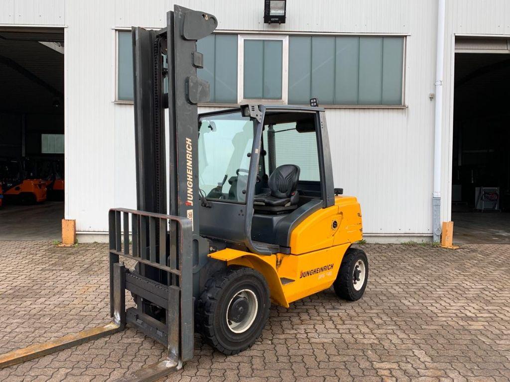 Jungheinrich-DFG 540-Diesel Forklift-www.mengel-gabelstapler.com
