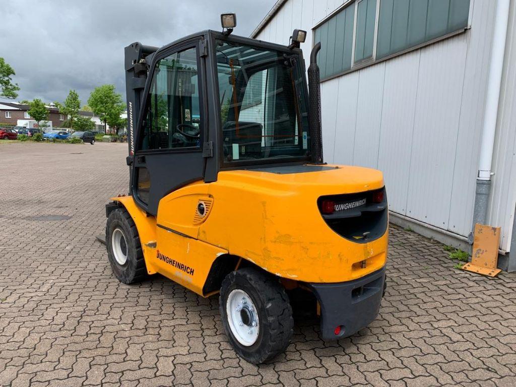 Jungheinrich-DFG 550 / 2.770 Std.-Diesel Forklift-www.mengel-gabelstapler.com