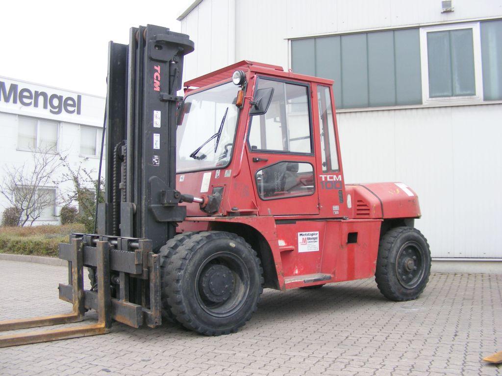 TCM-FD 100 Z 8-Diesel Forklift-www.mengel-gabelstapler.com