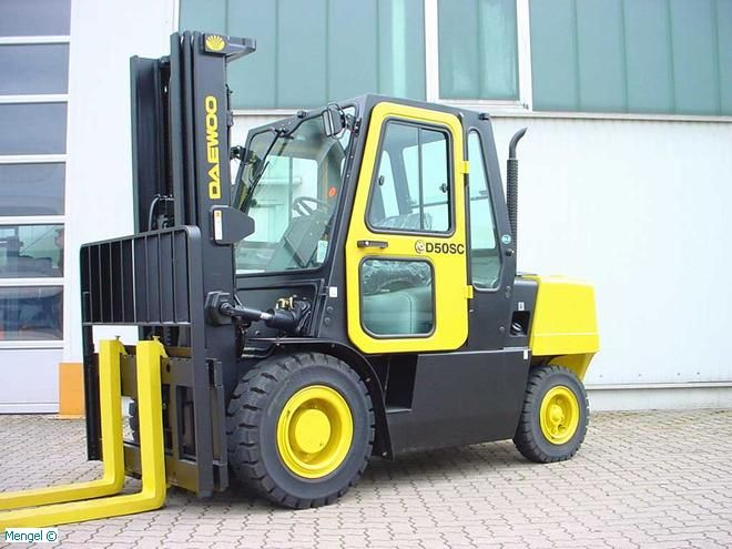 Daewoo-G 50 SC-5-LPG Forklifts-www.mengel-gabelstapler.com
