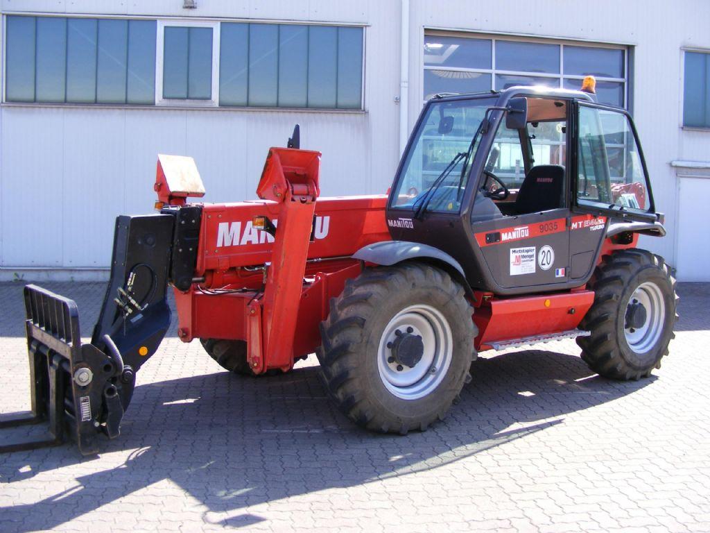 Manitou-MT 1340-Telehandler / Telescope Forklift-www.mengel-gabelstapler.com