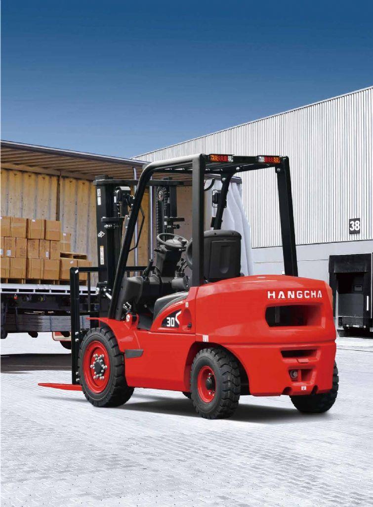 HC Hangcha X-Serie | Economy CPQD30-XRW22F Treibgasstapler www.hangcha-gabelstapler.de