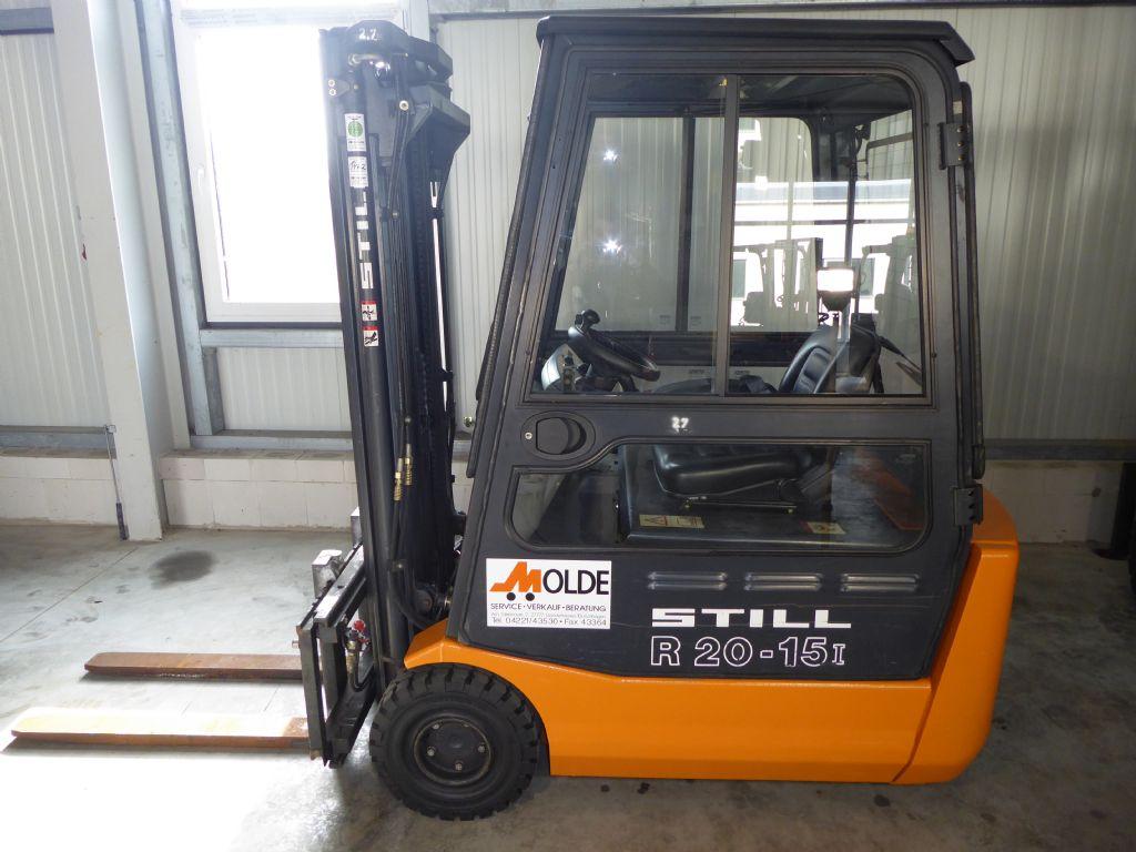 Still-R20-Elektro 3 Rad-Stapler-www.gabelstapler-molde.de