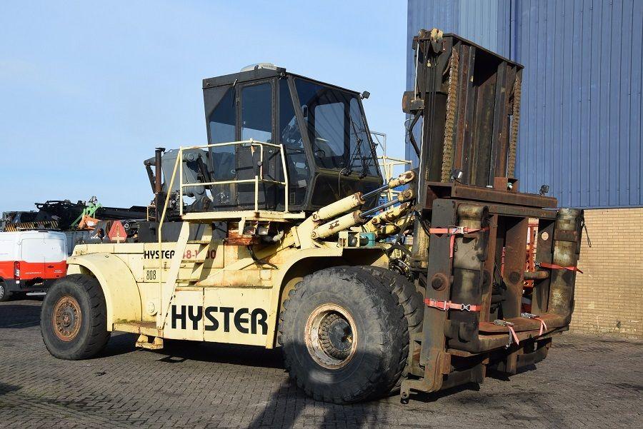 Hyster H52.00C Diesel Forklift www.mtc-forklifts.com