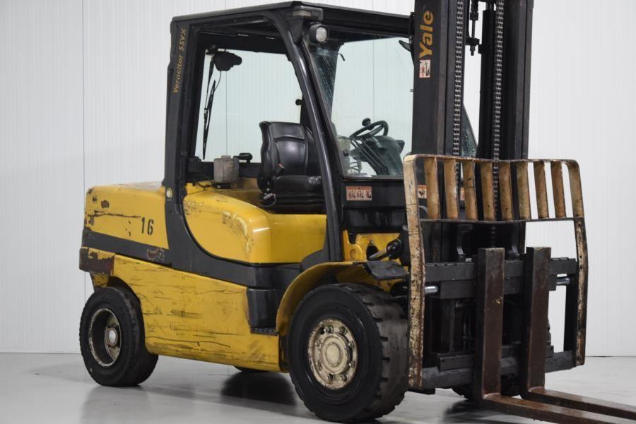 Yale GDP55VX Diesel Forklift www.mtc-forklifts.com