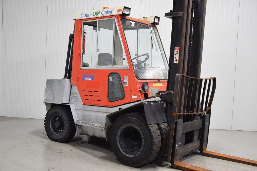 TCM FHD36Z8T Diesel Forklift www.mtc-forklifts.com