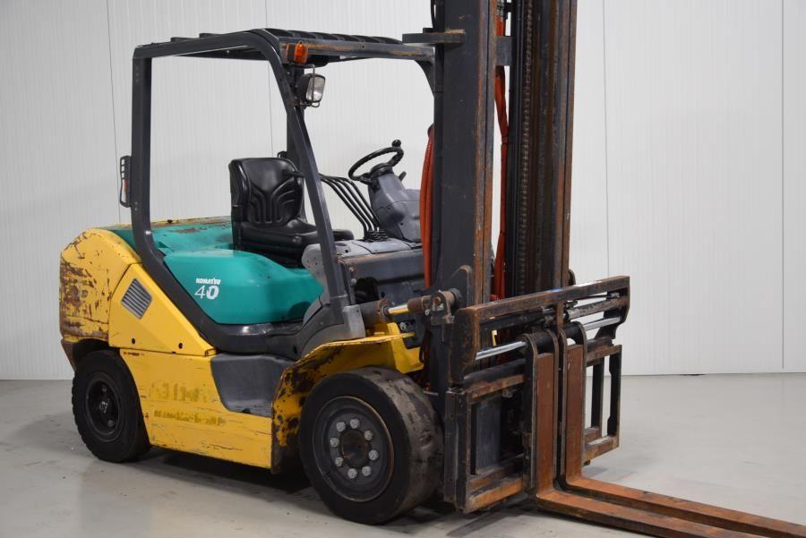 Komatsu FD40ZT-10 Diesel Forklift www.mtc-forklifts.com