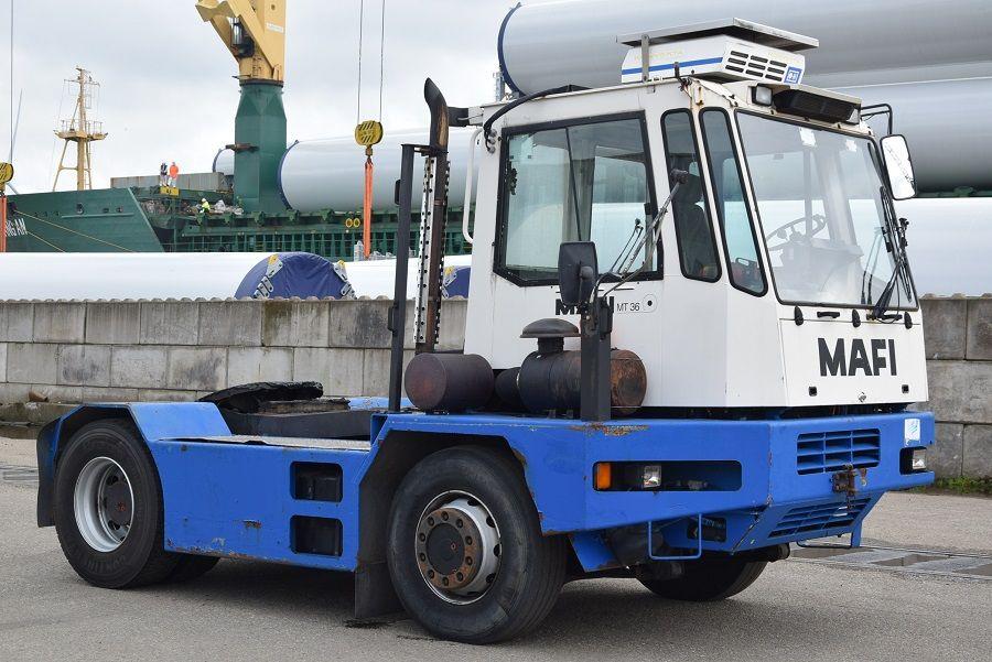 Mafi MT36R Terminal tractor www.mtc-forklifts.com