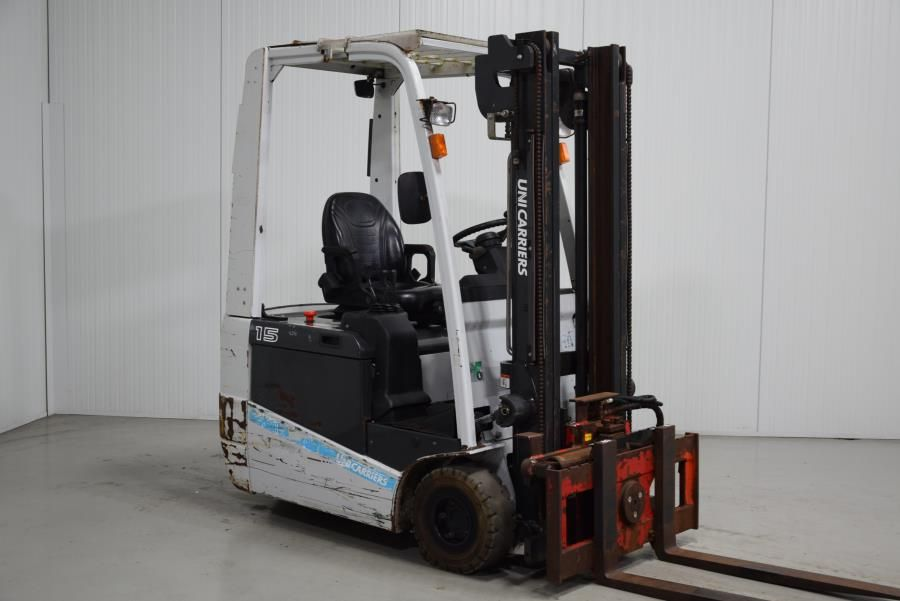 Unicarriers A1N1L15Q Electric 3-wheel forklift www.mtc-forklifts.com