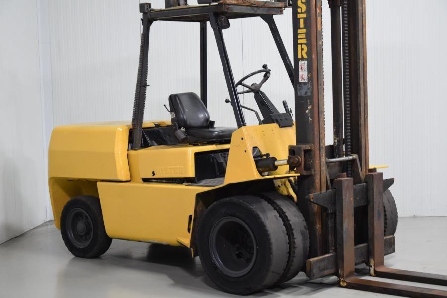 Hyster H5.00XL Diesel Forklift www.mtc-forklifts.com