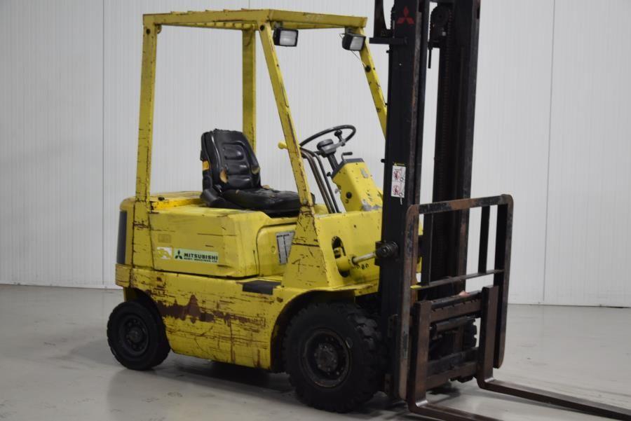 Mitsubishi FD15 Diesel Forklift www.mtc-forklifts.com