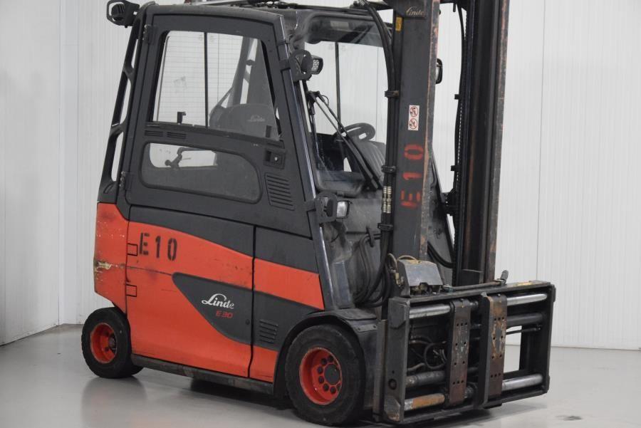 Linde E30HL-01/600 Electric 4-wheel forklift www.mtc-forklifts.com