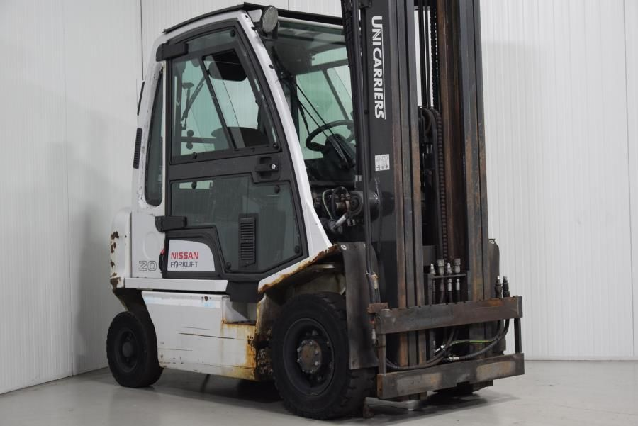 Unicarriers Y1D2A20Q Diesel Forklift www.mtc-forklifts.com