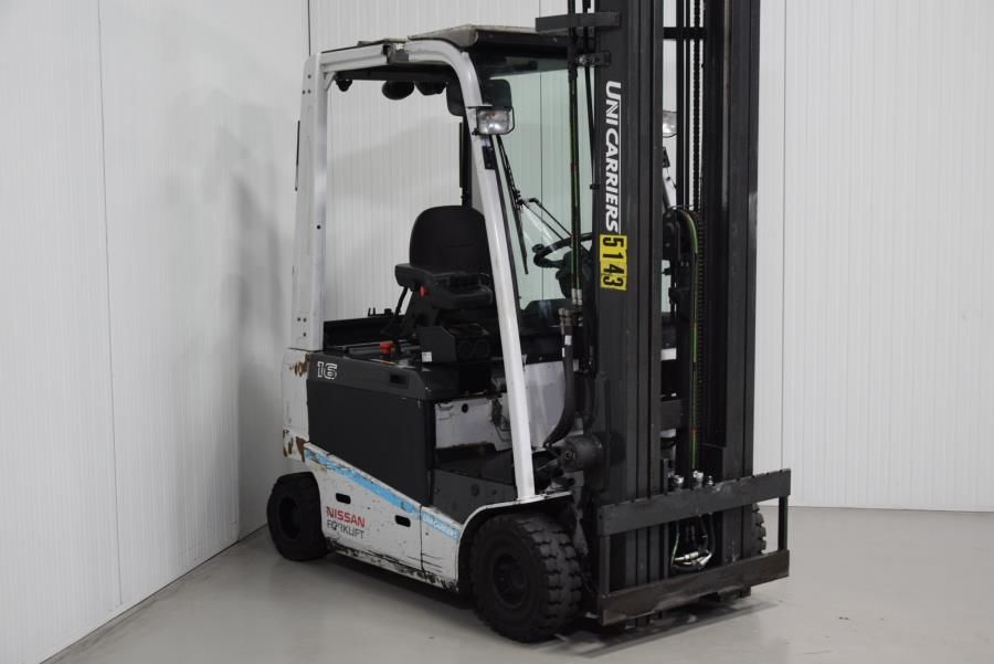 Unicarriers JAG1N1L16Q Electric 4-wheel forklift www.mtc-forklifts.com
