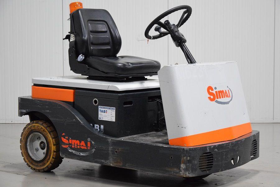 Simai TTE40 Electric platform trucks www.mtc-forklifts.com