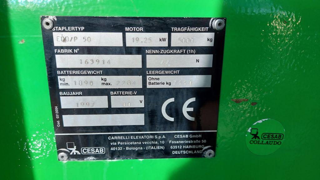 Cesab-ECO/P50-Elektro 4 Rad-Stapler-www.nikolic-gabelstapler.de