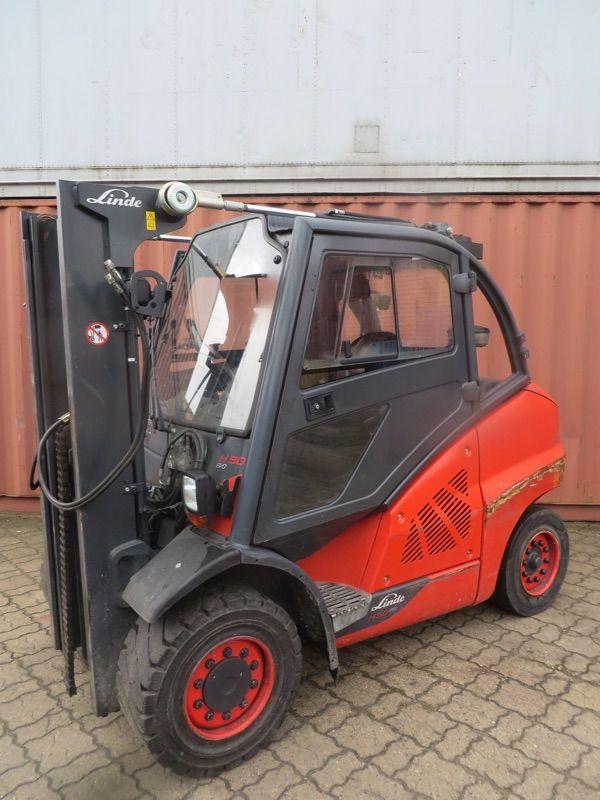 Linde H50D-394 Dieselstapler www.nortruck.de