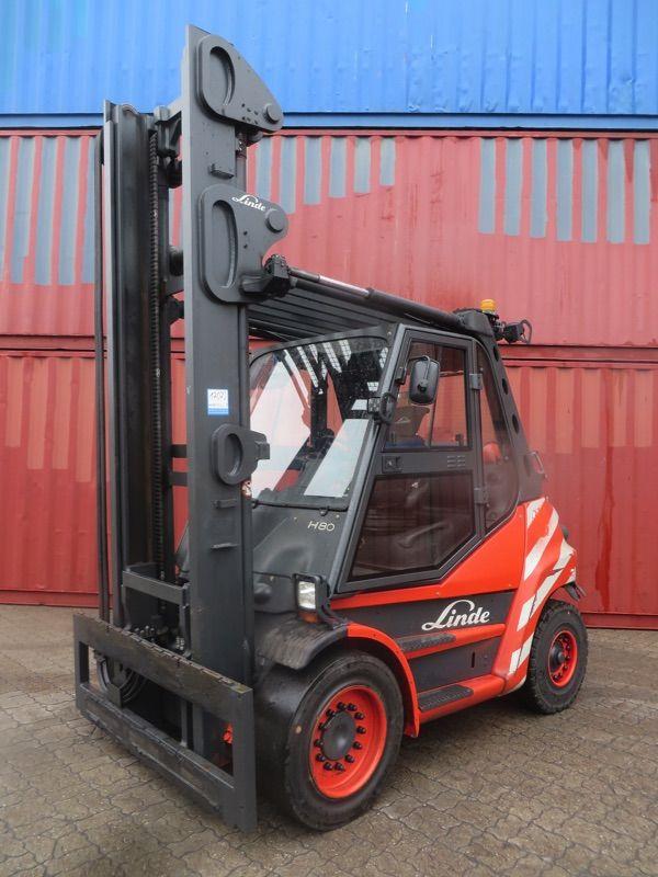Linde H80T-396 Treibgasstapler www.nortruck.de