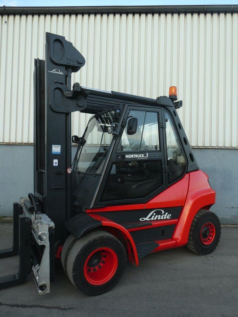 Linde H80D-396 Dieselstapler www.nortruck.de