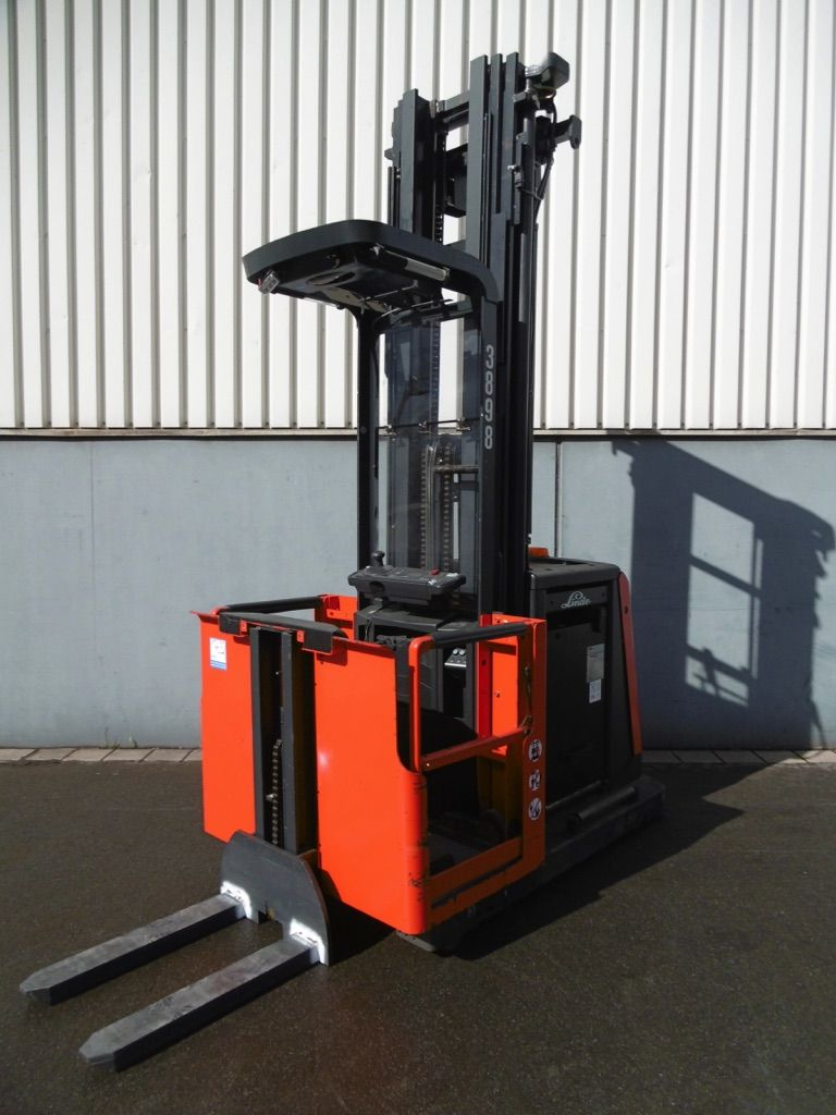 Used Linde V12-015 High Level Order Picker 1200 kg| Used