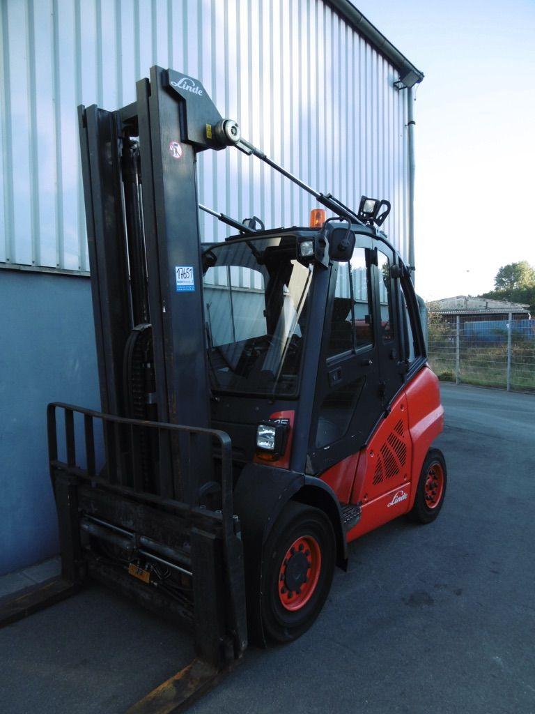 Linde H45T-394 Treibgasstapler www.nortruck.de