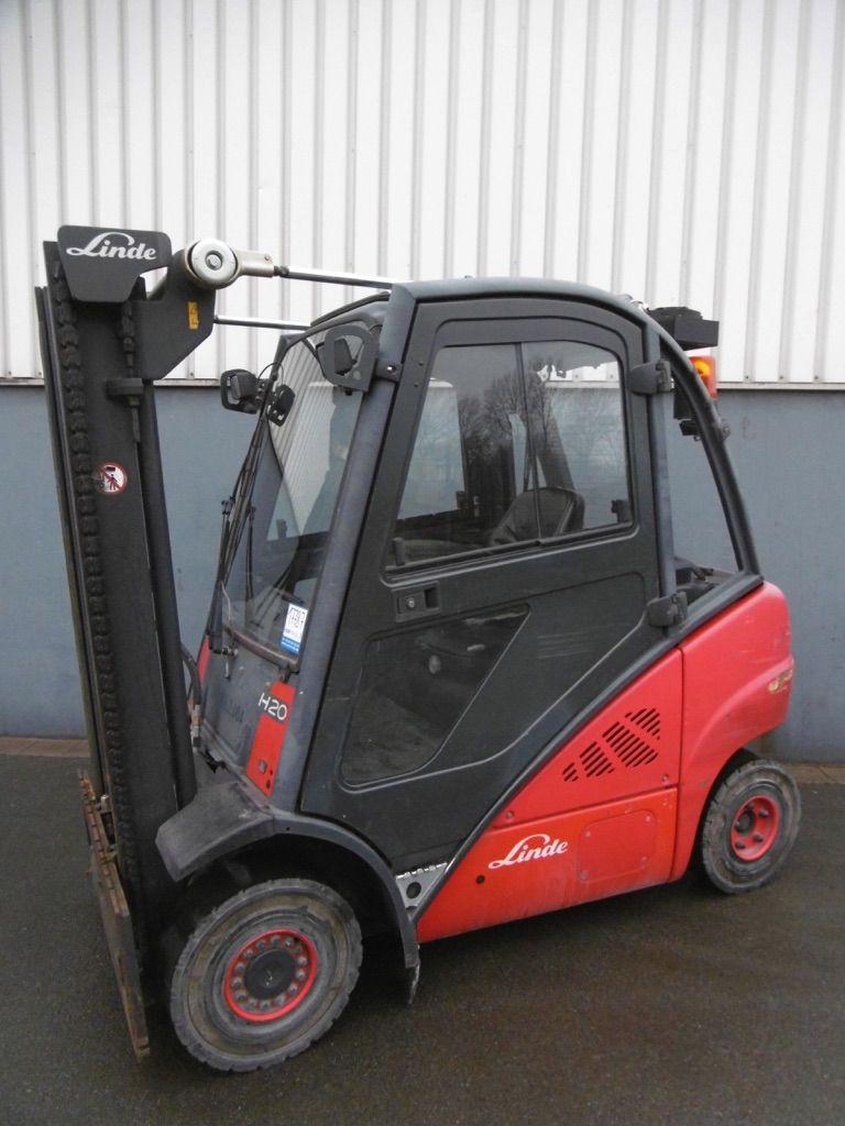 Linde H20D-392 Dieselstapler www.nortruck.de